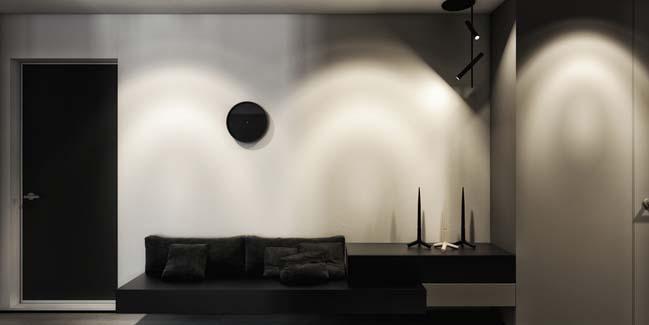 mau can ho chung cu dep 09 Chiêm ngắm mẫu căn hộ chung cư đẹp với phong cách tối giản