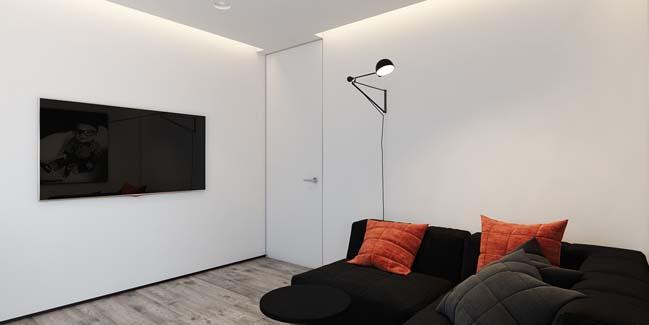 mau can ho chung cu dep 11 Chiêm ngắm mẫu căn hộ chung cư đẹp với phong cách tối giản