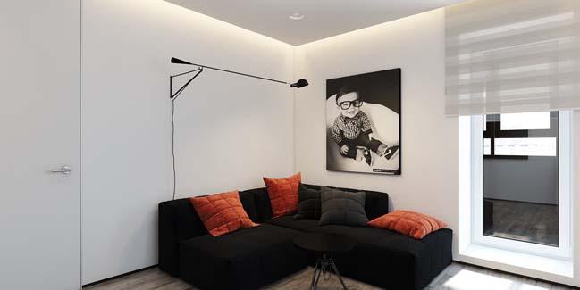 mau can ho chung cu dep 12 Chiêm ngắm mẫu căn hộ chung cư đẹp với phong cách tối giản