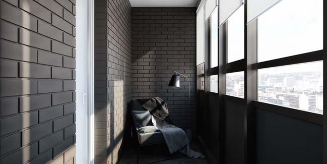 mau can ho chung cu dep 13 Chiêm ngắm mẫu căn hộ chung cư đẹp với phong cách tối giản