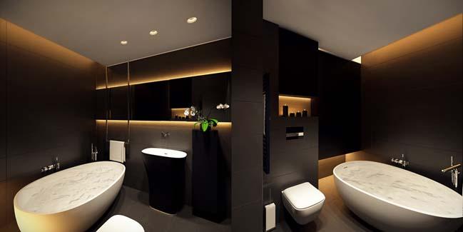 mau can ho chung cu dep 14 Chiêm ngắm mẫu căn hộ chung cư đẹp với phong cách tối giản