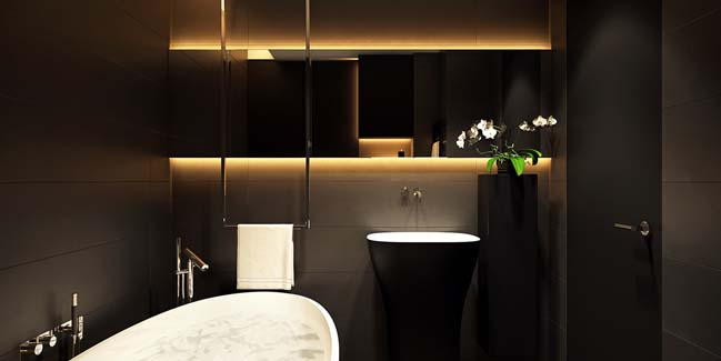 mau can ho chung cu dep 15 Chiêm ngắm mẫu căn hộ chung cư đẹp với phong cách tối giản