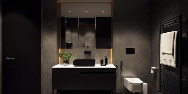 mau can ho chung cu dep 17 Chiêm ngắm mẫu căn hộ chung cư đẹp với phong cách tối giản