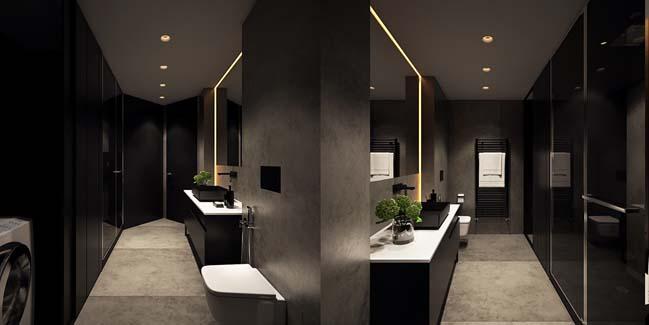 mau can ho chung cu dep 19 Chiêm ngắm mẫu căn hộ chung cư đẹp với phong cách tối giản
