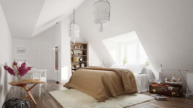 20 mẫu phòng ngủ đẹp với thiết kế Scandinavian