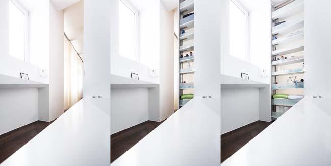 Thiết kế phòng tắm đẹp lấy cảm hứng từ tảng băng
