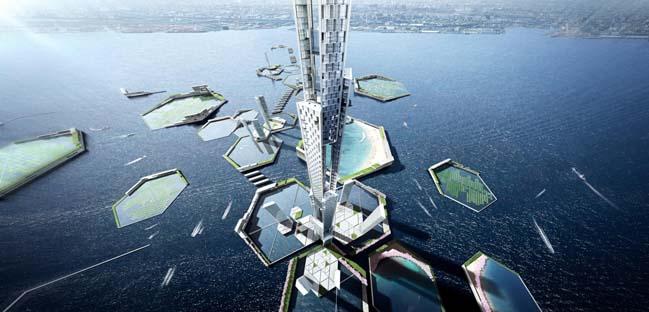 Ấn tượng với kiến trúc thành phố nổi tương lai