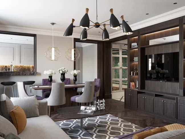 Mẫu nhà đẹp sang trọng với phong cách Art Deco