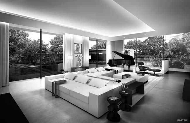 Tham quan ngôi biệt thự đẹp với thiết kế hiện đại sang trọng