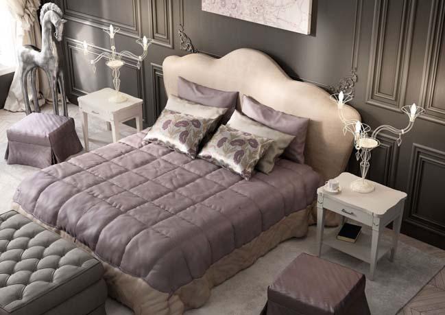 Căn hộ chung cư với nội thất cổ điển sang trọng