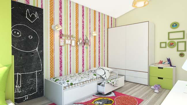 23 mẫu thiết kế nội thất đẹp cho phòng ngủ của bé