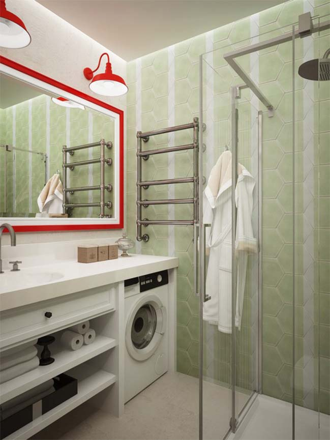 Thiết kế đẹp cho căn hộ chung cư nhỏ 28m2
