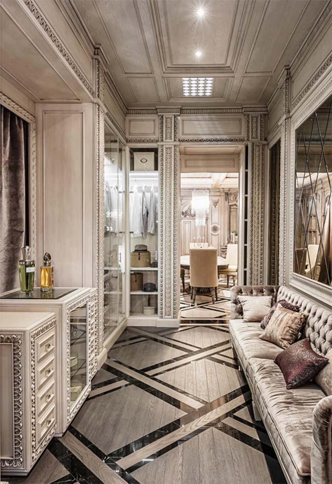 Mê mẩn với nội thất sang trọng của căn hộ cao cấp