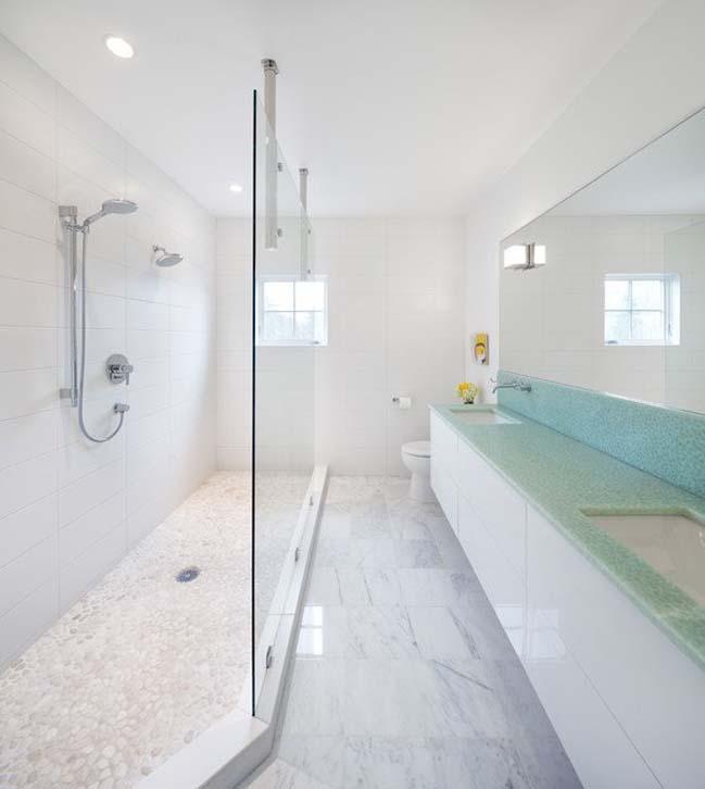 18 mẫu phòng tắm đẹp có diện tích hẹp