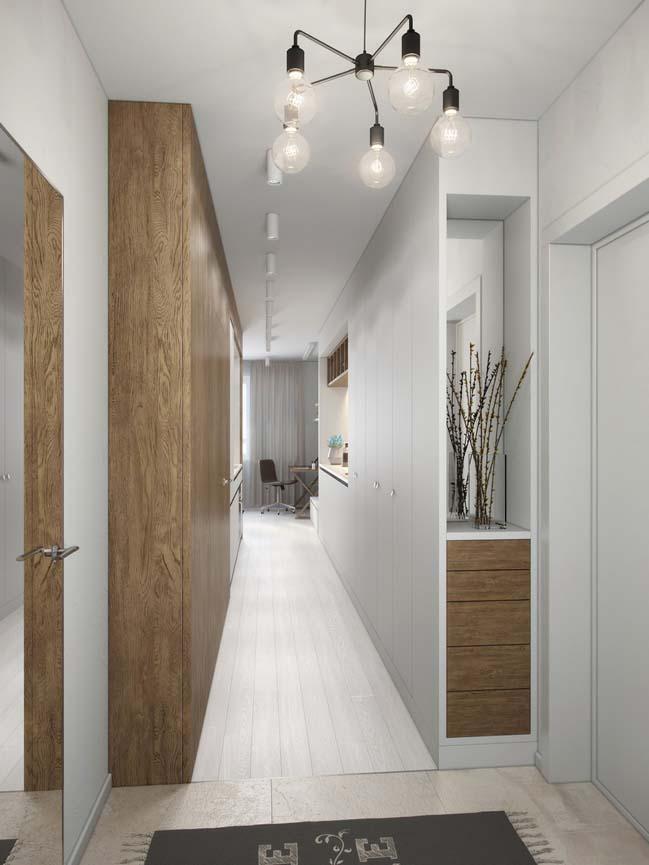 nha nho dep 29m2 07 Gợi ý thiết kế ấm cúng và sáng sủa cho nhà nhỏ đẹp 29m2