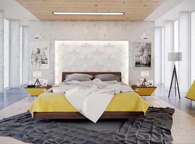 6 mẫu phòng ngủ tuyệt đẹp dành cho căn hộ của bạn