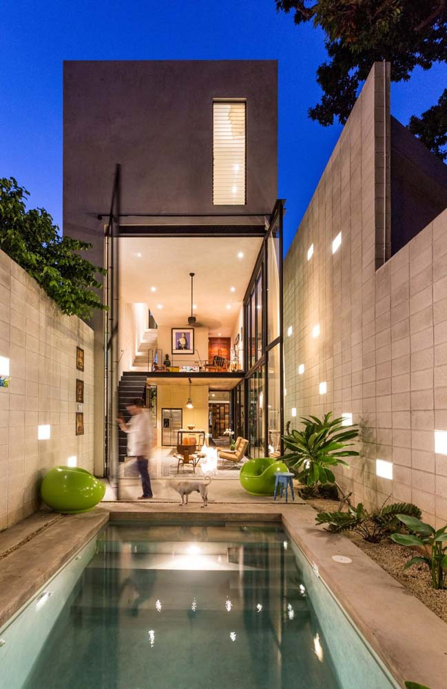 Thiết kế nhà phố đẹp 3 tầng khắc phục nắng hướng tây