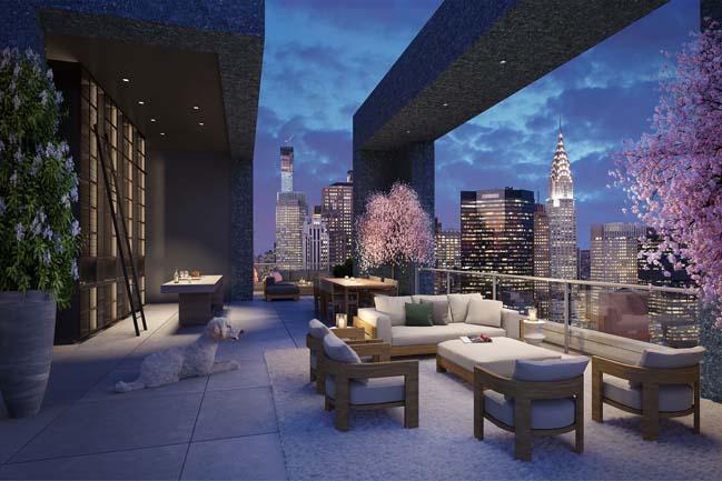 Tham quan căn hộ penthouse với thiết kế hiện đại sang trọng