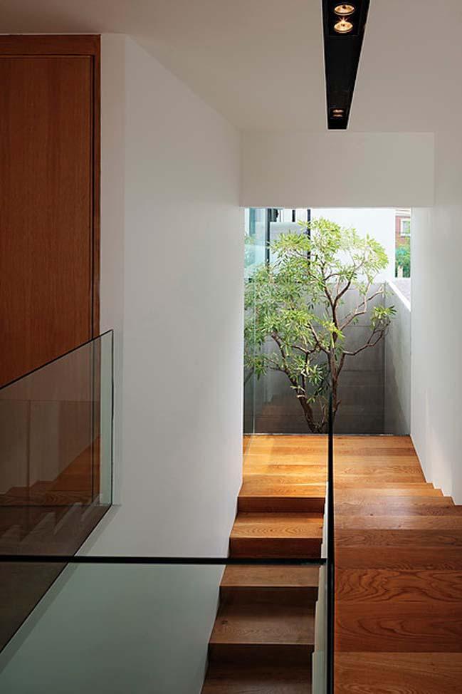 biet thu dep hinh chu l 09 Thiết kế biệt thự đẹp với kiến trúc hình chữ L hiện đại