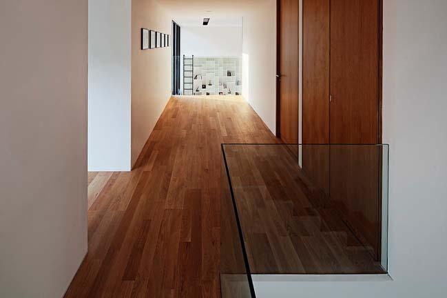 biet thu dep hinh chu l 12 Thiết kế biệt thự đẹp với kiến trúc hình chữ L hiện đại