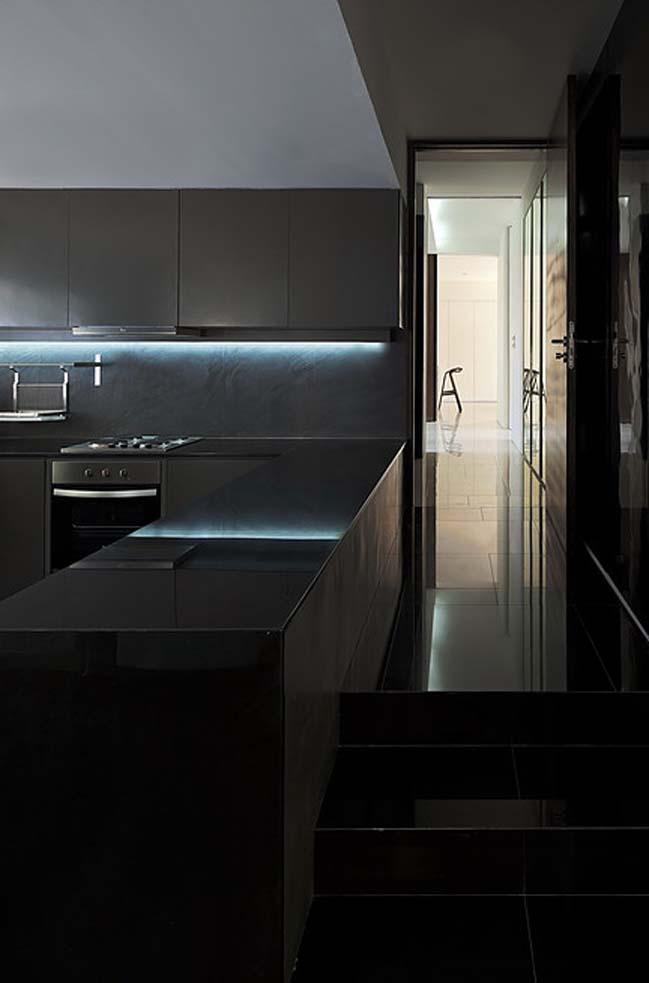 biet thu dep hinh chu l 15 Thiết kế biệt thự đẹp với kiến trúc hình chữ L hiện đại