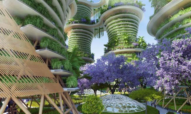 Thiết kế kiến trúc ấn tượng cho hệ sinh thái tại Ấn Độ