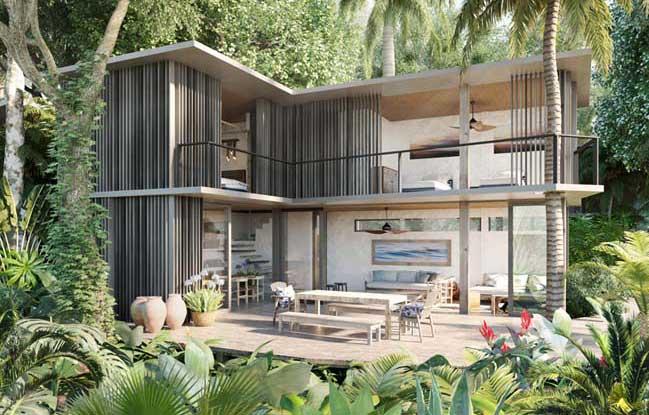 Mẫu thiết kế nhà đẹp ấm cúng giữa thiên nhiên
