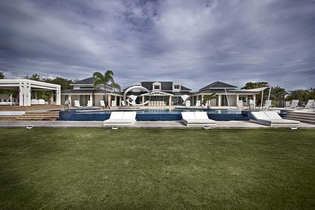 mau biet thu dep 2 tang 09 Cùng nhìn qua mẫu biệt thự đẹp 2 tầng sang trọng như resort