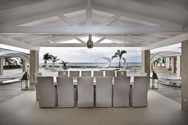 mau biet thu dep 2 tang 13 Cùng nhìn qua mẫu biệt thự đẹp 2 tầng sang trọng như resort