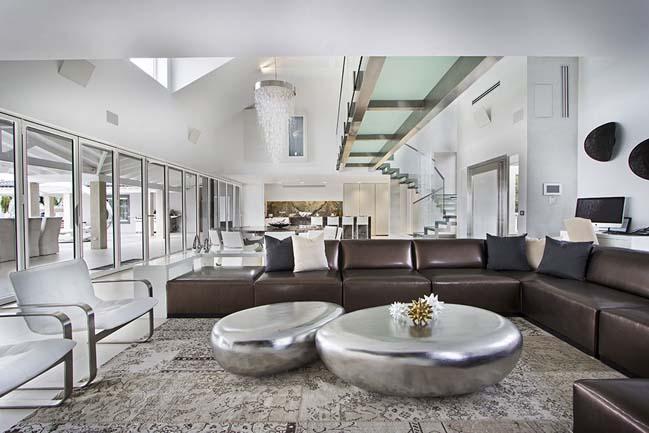 mau biet thu dep 2 tang 20 Cùng nhìn qua mẫu biệt thự đẹp 2 tầng sang trọng như resort