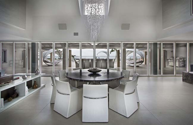 mau biet thu dep 2 tang 23 Cùng nhìn qua mẫu biệt thự đẹp 2 tầng sang trọng như resort
