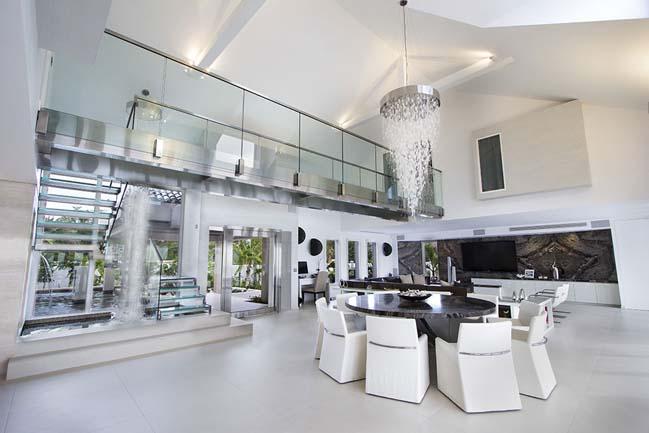 mau biet thu dep 2 tang 24 Cùng nhìn qua mẫu biệt thự đẹp 2 tầng sang trọng như resort