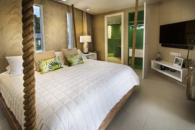 mau biet thu dep 2 tang 31 Cùng nhìn qua mẫu biệt thự đẹp 2 tầng sang trọng như resort