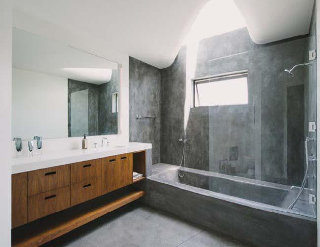 mau thiet ke phong tam dep 02 Gợi ý 11 thiết kế phòng tắm đẹp với bê tông cá tính