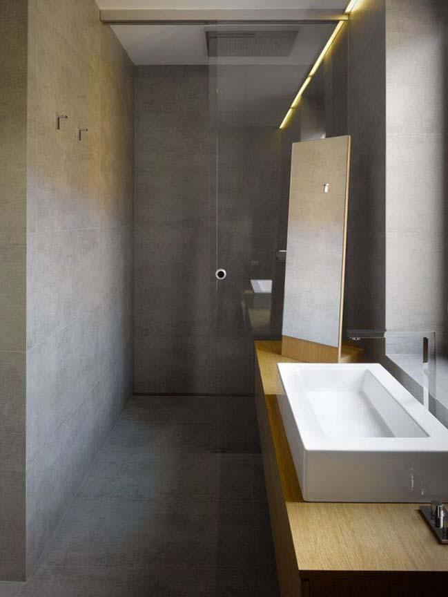 mau thiet ke phong tam dep 06 Gợi ý 11 thiết kế phòng tắm đẹp với bê tông cá tính