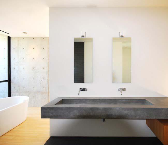 mau thiet ke phong tam dep 07 Gợi ý 11 thiết kế phòng tắm đẹp với bê tông cá tính