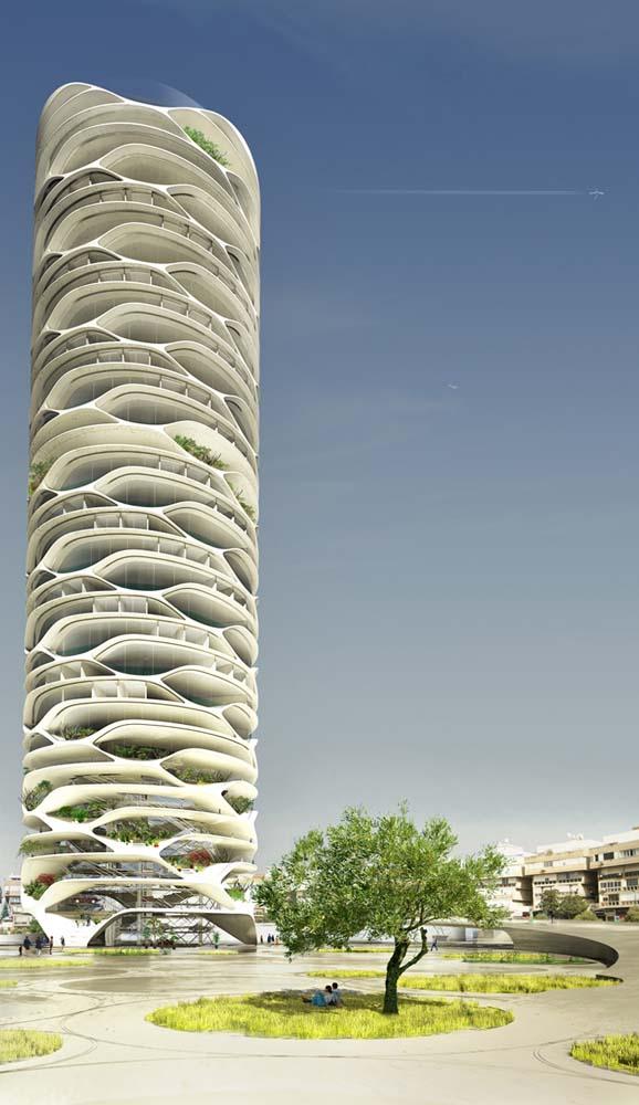 Ý tưởng kiến trúc sáng tạo cho tòa nhà tương lai