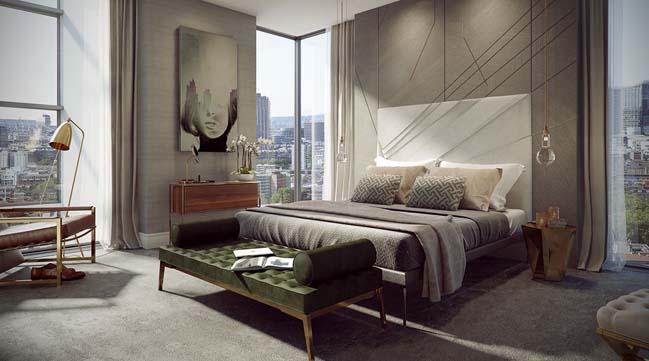 Tham quan căn hộ penthouse thông tầng sang trọng