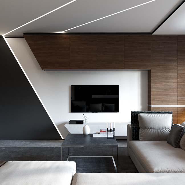 Mê mẩn nội thất hoàn hảo của căn hộ 50m2