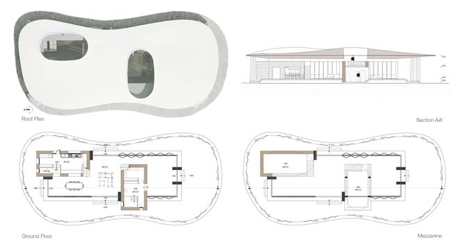 Mẫu nhà đẹp 1 tầng với thiết kế xanh