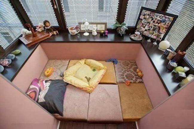 18 giải pháp cho những căn hộ không có ban công