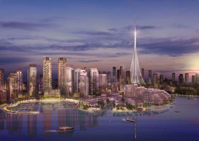 Kiến trúc ấn tượng của tòa tháp quan sát mới tại Dubai