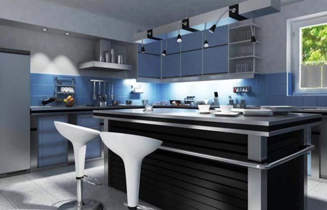 18 mẫu nhà bếp đẹp với phong cách hiện đại sang trọng