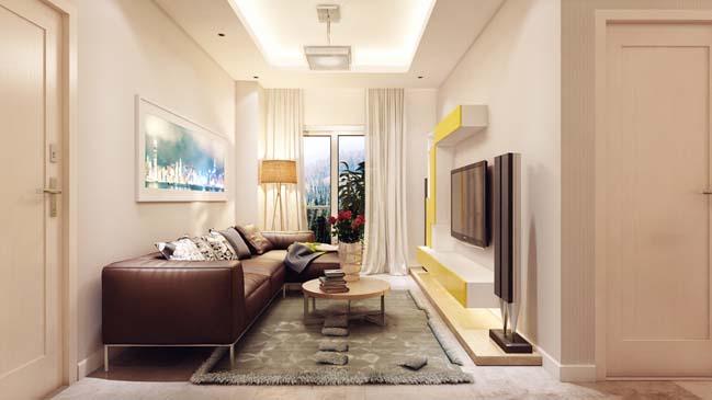 20+ mẫu phòng khách đẹp có diện tích hẹp