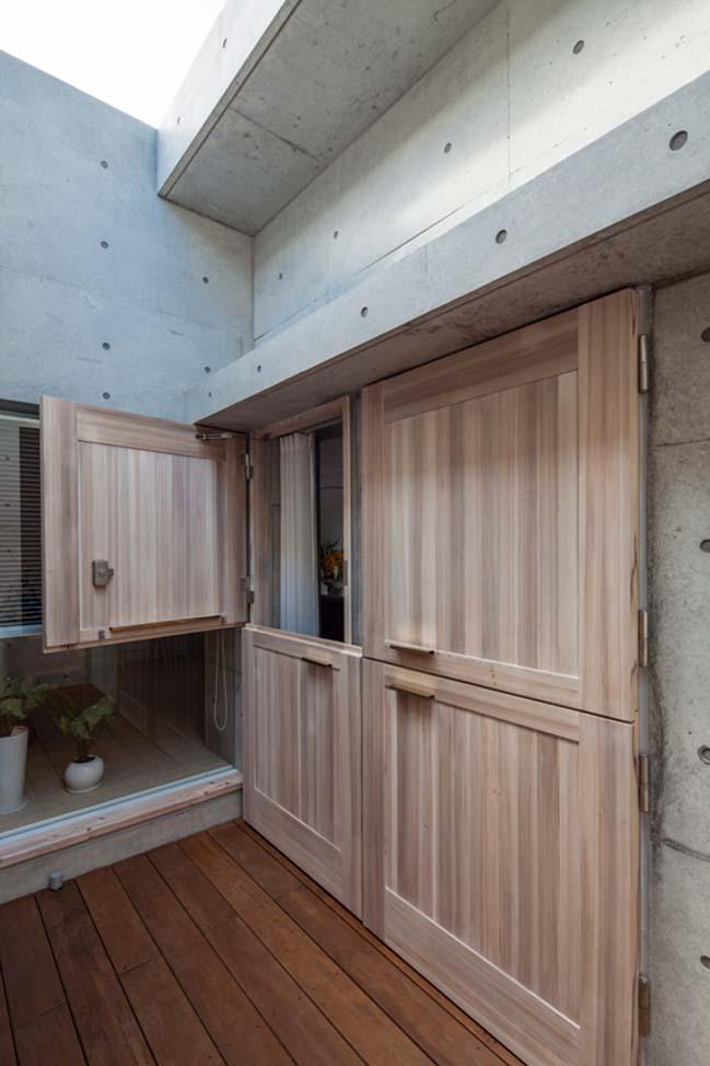 Mẫu nhà đẹp đơn giản với kiến trúc bê tông tinh tế