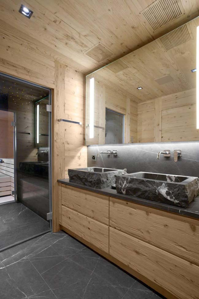 Căn hộ chung cư ấm cúng hơn nhờ nội thất gỗ