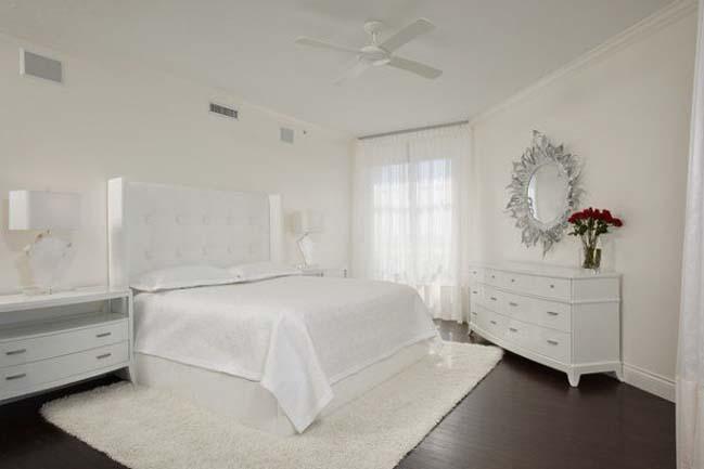 phong ngu dep mau trang 02 Chia sẻ 20+ mẫu phòng ngủ đẹp với tông màu trắng