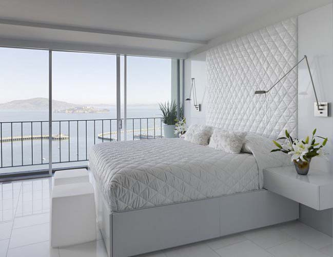 phong ngu dep mau trang 03 Chia sẻ 20+ mẫu phòng ngủ đẹp với tông màu trắng