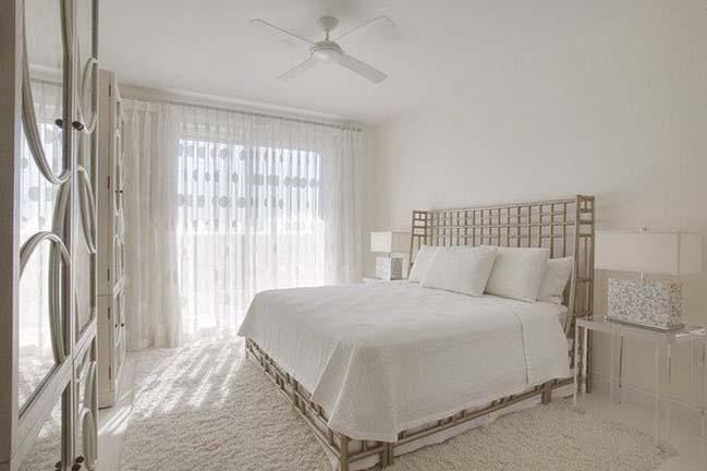 phong ngu dep mau trang 04 Chia sẻ 20+ mẫu phòng ngủ đẹp với tông màu trắng