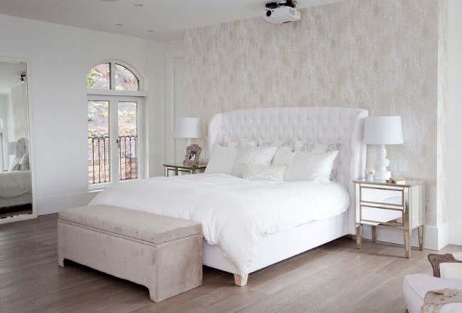 phong ngu dep mau trang 06 Chia sẻ 20+ mẫu phòng ngủ đẹp với tông màu trắng